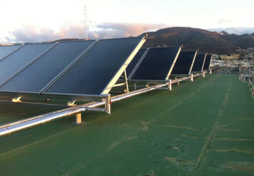 Energía Solar ACS Centro Comercial