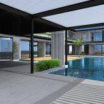construcción vivienda de lujo